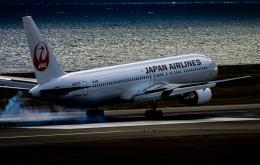 rokko2000さんが、関西国際空港で撮影した日本航空 767-346の航空フォト(飛行機 写真・画像)
