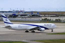 rokko2000さんが、関西国際空港で撮影したエル・アル航空 767-3Q8/ERの航空フォト(飛行機 写真・画像)