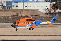 Mizuki24さんが、名古屋飛行場で撮影した新日本ヘリコプター AS332L1 Super Pumaの航空フォト(飛行機 写真・画像)