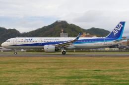 やさい弁当さんが、松山空港で撮影した全日空 A321-272Nの航空フォト(飛行機 写真・画像)