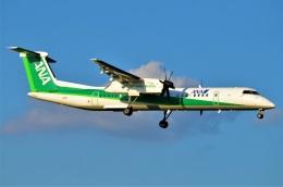 amagoさんが、成田国際空港で撮影したANAウイングス DHC-8-402Q Dash 8の航空フォト(飛行機 写真・画像)