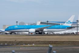 ぎんじろーさんが、成田国際空港で撮影したKLMオランダ航空 787-9の航空フォト(飛行機 写真・画像)