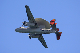 tsubameさんが、岩国空港で撮影したアメリカ海軍 E-2D Advanced Hawkeyeの航空フォト(飛行機 写真・画像)
