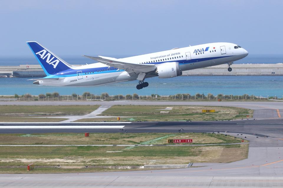 安芸あすかさんの全日空 Boeing 787-8 Dreamliner (JA825A) 航空フォト