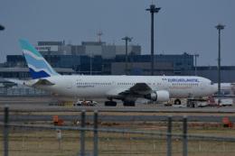 アルビレオさんが、成田国際空港で撮影したユーロアトランティック・エアウェイズ 767-34P/ERの航空フォト(飛行機 写真・画像)