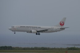 Qualiflyerさんが、那覇空港で撮影した日本トランスオーシャン航空 737-446の航空フォト(飛行機 写真・画像)