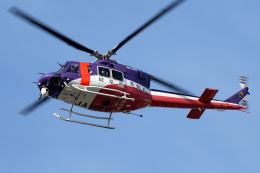 Echo-Kiloさんが、岐阜基地で撮影した岐阜県防災航空隊 412EPの航空フォト(飛行機 写真・画像)