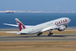 航空フォト:A7-BFK カタール航空カーゴ 777-200