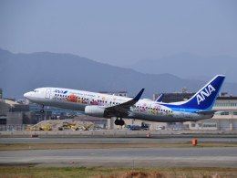 bachi51さんが、福岡空港で撮影した全日空 737-881の航空フォト(飛行機 写真・画像)