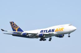 tamtam3839さんが、岩国空港で撮影したアトラス航空 747-45E(BDSF)の航空フォト(飛行機 写真・画像)