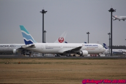 湖景さんが、成田国際空港で撮影したユーロアトランティック・エアウェイズ 767-34P/ERの航空フォト(飛行機 写真・画像)