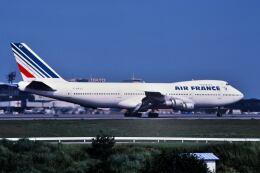 パール大山さんが、成田国際空港で撮影したエールフランス航空 747-128の航空フォト(飛行機 写真・画像)