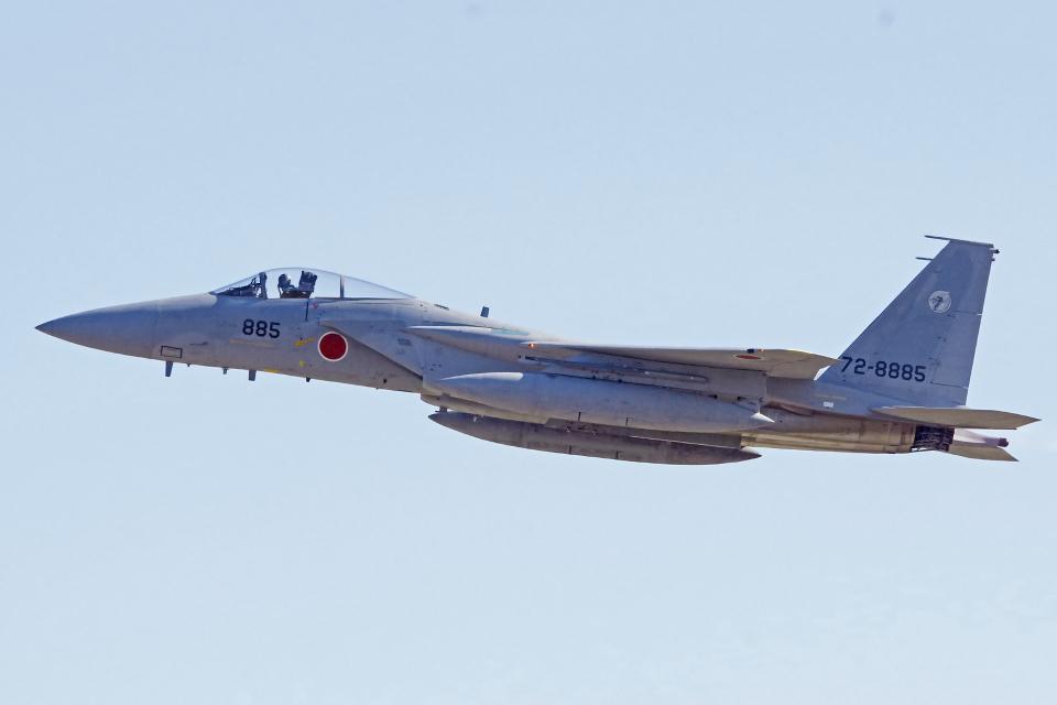 AWACSさんの航空自衛隊 Mitsubishi F-15J Eagle (72-8885) 航空フォト