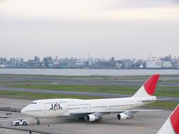 れぐぽよさんが、羽田空港で撮影した日本航空 747-146B/SR/SUDの航空フォト(飛行機 写真・画像)