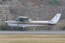 Hii82さんが、南紀白浜空港で撮影した日本個人所有 172P Skyhawk IIの航空フォト(飛行機 写真・画像)