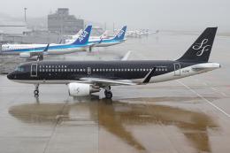 A.Tさんが、福岡空港で撮影したスターフライヤー A320-214の航空フォト(飛行機 写真・画像)
