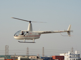 YaoRJOYさんが、八尾空港で撮影したエス・ジー・シー佐賀航空 R44 Ravenの航空フォト(飛行機 写真・画像)