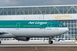 gomaさんが、ミュンヘン・フランツヨーゼフシュトラウス空港で撮影したエア・リンガス A330-302の航空フォト(飛行機 写真・画像)