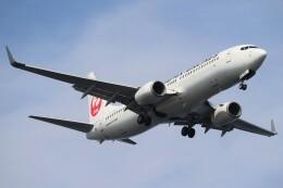 BOEING737MAX-8さんが、羽田空港で撮影した日本航空 737-846の航空フォト(飛行機 写真・画像)
