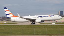 chrisshoさんが、シュトゥットガルト空港で撮影したスマート・ウイングス 737-8BKの航空フォト(飛行機 写真・画像)