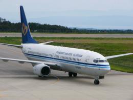 れぐぽよさんが、能登空港で撮影したマンダリン航空 737-809の航空フォト(飛行機 写真・画像)