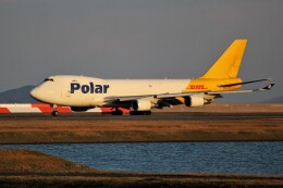 OMAさんが、岩国空港で撮影したポーラーエアカーゴ 747-46NF/SCDの航空フォト(飛行機 写真・画像)