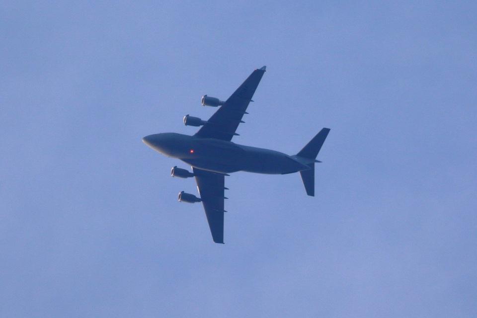 レガシィさんのアメリカ空軍 Boeing C-17 (02-1111) 航空フォト