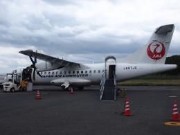 FT51ANさんが、屋久島空港で撮影した日本エアコミューター ATR-42-600の航空フォト(飛行機 写真・画像)