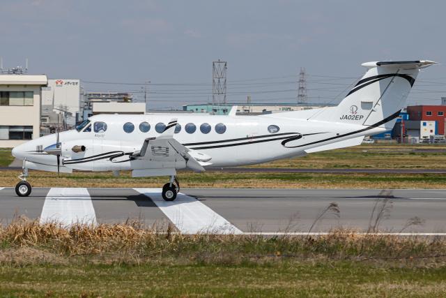 A.Tさんが、八尾空港で撮影したITCアエロリーシング B300の航空フォト(飛行機 写真・画像)