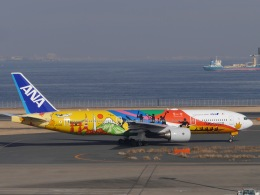 sakaki787さんが、羽田空港で撮影した全日空 777-281/ERの航空フォト(飛行機 写真・画像)
