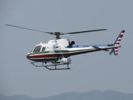 F.YUKIHIDEさんが、岡南飛行場で撮影したエクセル航空 AS350B2 Ecureuilの航空フォト(飛行機 写真・画像)