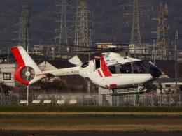 YaoRJOYさんが、八尾空港で撮影した中日本航空 EC135P3の航空フォト(飛行機 写真・画像)