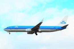 ちっとろむさんが、ロンドン・ヒースロー空港で撮影したKLMオランダ航空 737-9K2の航空フォト(飛行機 写真・画像)
