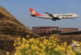 flyskyさんが、成田国際空港で撮影したカーゴルクス 747-8R7F/SCDの航空フォト(飛行機 写真・画像)