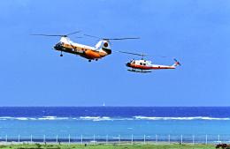 A-330さんが、那覇空港で撮影した陸上自衛隊 UH-1Hの航空フォト(飛行機 写真・画像)