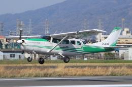 キイロイトリさんが、八尾空港で撮影したアドバンス・エア・スポーツ T207A Turbo Stationair 7の航空フォト(飛行機 写真・画像)
