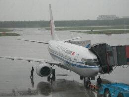 磐城さんが、瀋陽桃仙国際空港で撮影した中国国際航空 737-79Lの航空フォト(飛行機 写真・画像)