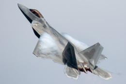 SGさんが、岩国空港で撮影したアメリカ空軍 F-22A-20-LM Raptorの航空フォト(飛行機 写真・画像)