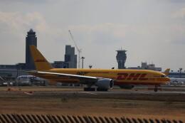 flyskyさんが、成田国際空港で撮影したDHL 777-Fの航空フォト(飛行機 写真・画像)