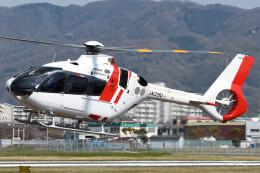 ほてるやんきーさんが、八尾空港で撮影した中日本航空 EC135P3の航空フォト(飛行機 写真・画像)