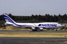 K.Sさんが、成田国際空港で撮影したナショナル・エアラインズ 747-412(BCF)の航空フォト(飛行機 写真・画像)