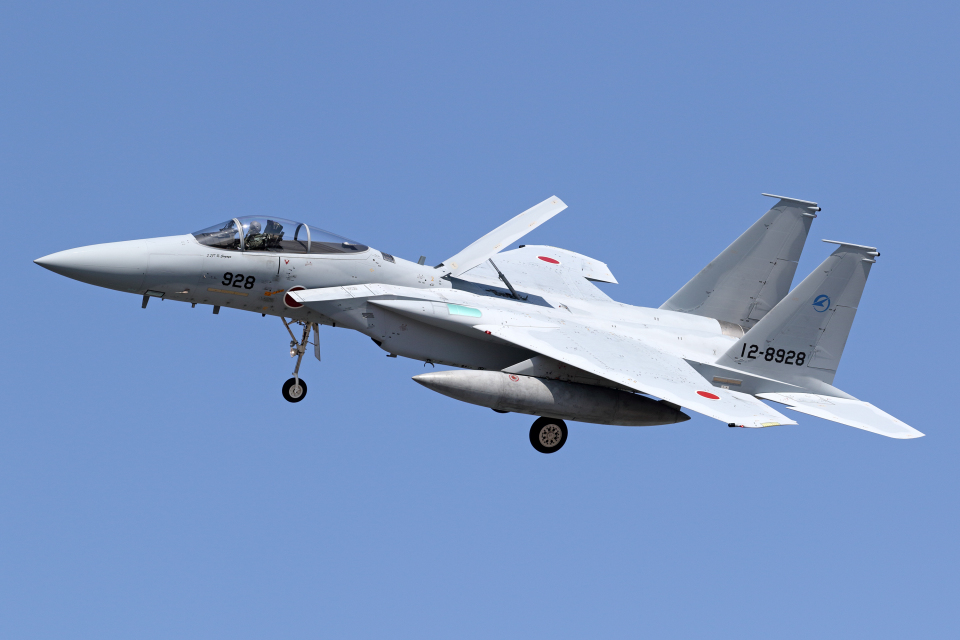 Echo-Kiloさんの航空自衛隊 Mitsubishi F-15J Eagle (12-8928) 航空フォト