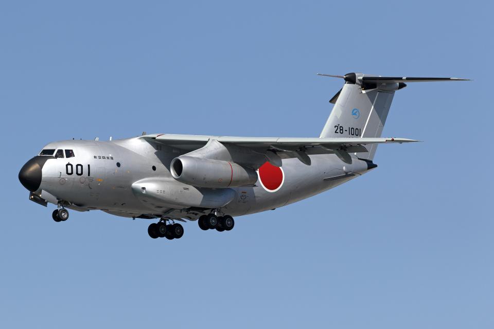 Echo-Kiloさんの航空自衛隊 Kawasaki C-1 (28-1001) 航空フォト