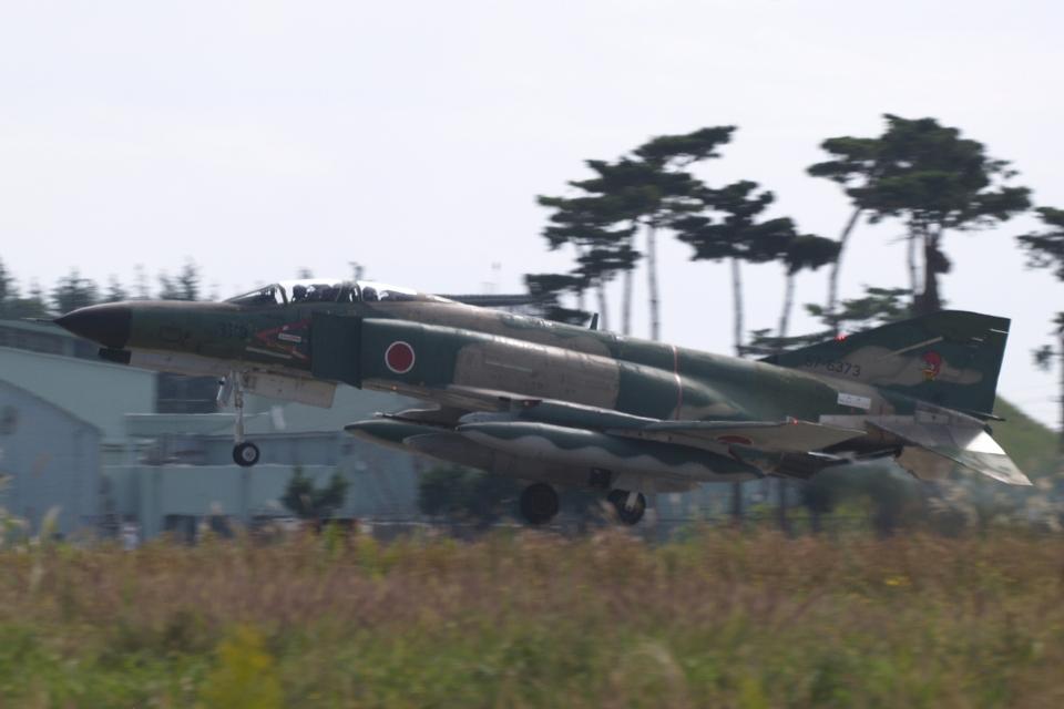 木人さんの航空自衛隊 Mitsubishi RF-4EJ Phantom II (57-6373) 航空フォト