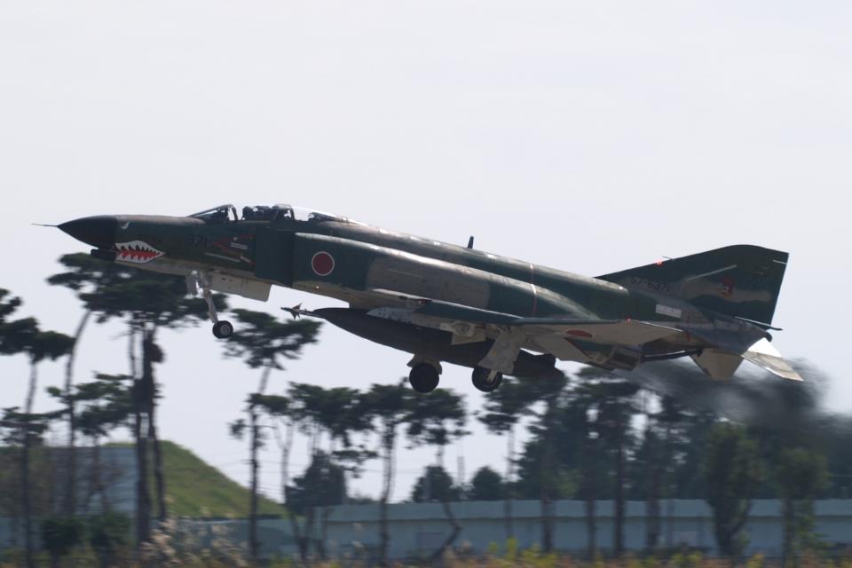 木人さんの航空自衛隊 Mitsubishi RF-4EJ Phantom II (57-6371) 航空フォト