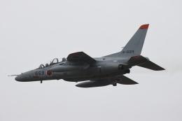 黄色の168さんが、千歳基地で撮影した航空自衛隊 T-4の航空フォト(飛行機 写真・画像)