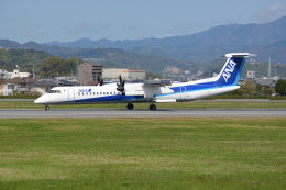 Deepさんが、松山空港で撮影したANAウイングス DHC-8-402Q Dash 8の航空フォト(飛行機 写真・画像)