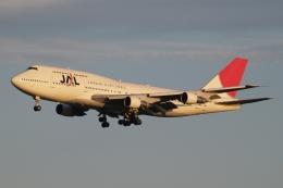 木人さんが、成田国際空港で撮影した日本航空 747-346の航空フォト(飛行機 写真・画像)
