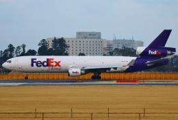 あしゅーさんが、成田国際空港で撮影したフェデックス・エクスプレス MD-11Fの航空フォト(飛行機 写真・画像)
