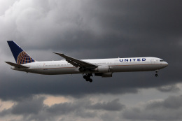 アルビレオさんが、成田国際空港で撮影したユナイテッド航空 767-424/ERの航空フォト(飛行機 写真・画像)
